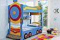детские кровати Milli Train (двухъярусная детская кровать)