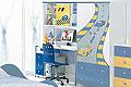 детские столы письменный детский стол F1 blue