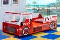 детские кровати Fire Engine (кровать машина пожарная)