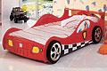 детские кровати Racer 865R (кровать машина электрическая)
