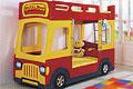 детские кровати Milli Bus (двухъярусная детская кровать)