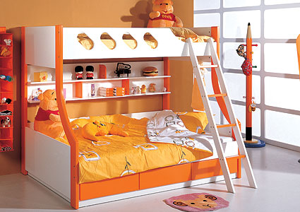 Детские кровати для разнополых детей 97