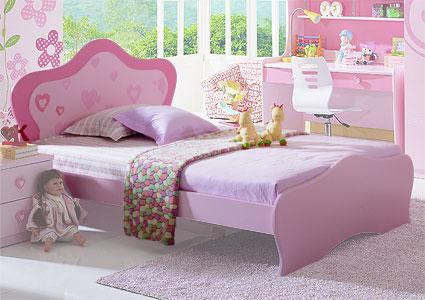 Детская кровать для девочки от 3 лет MILLI...  Условия доставки по...